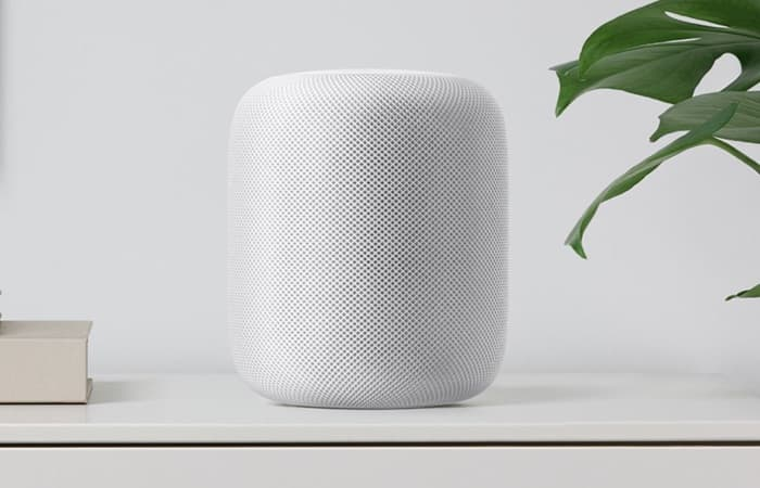 Your can now preorder Apple's HomePod smart speaker for $349