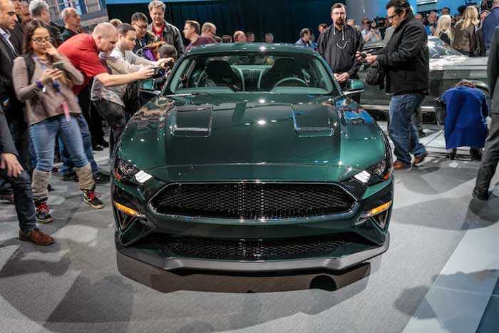 First 2019 Mustang Bullitt Sells Big for Charity