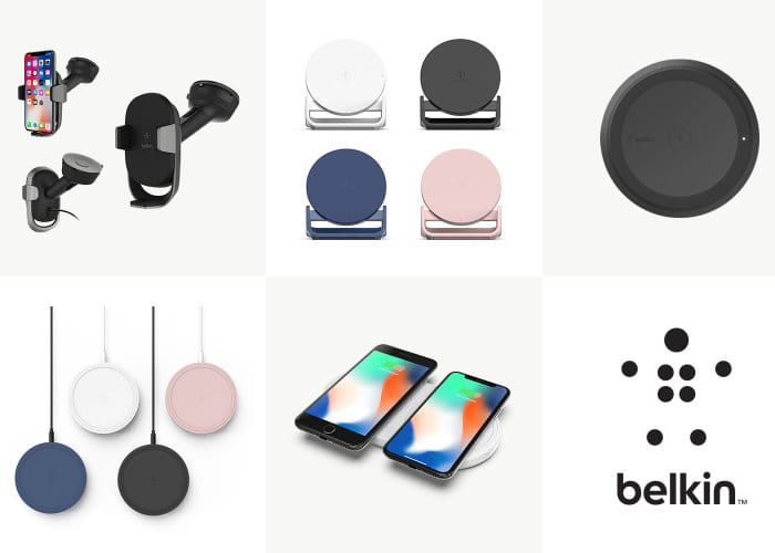 sale retailer 76338 d1366 iPhone X Wireless Chargers And Accessories By Belkin - Geeky Gadgets