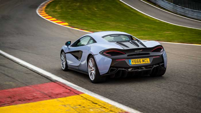 McLaren 570GT Gets New Sport Pack