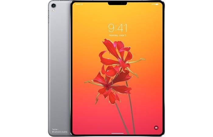 New iPad Face ID