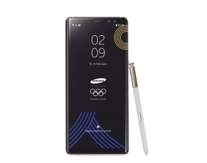Samsung Galaxy Note 8 PyeongChang 2018 Olympic Games Limited Edition Announced