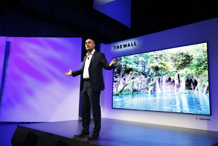 Samsung Unveiled a 146-inch Modular TV it's Calling