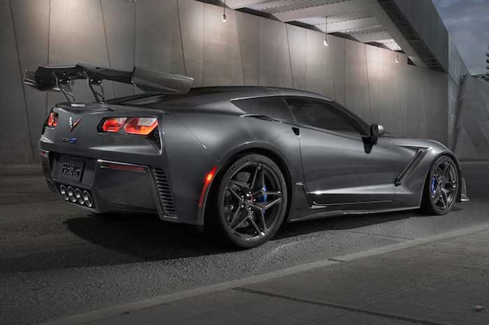 First Production 2019 Corvette ZR1 Auctioned for Charity ...