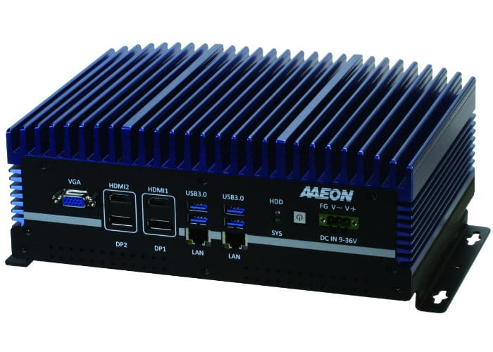 AAEON Boxer 6640 IPC Embedded Mini PC