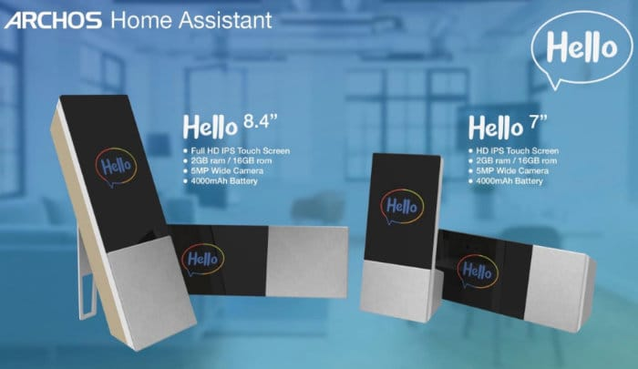 Archos Hello Android Home Assistant
