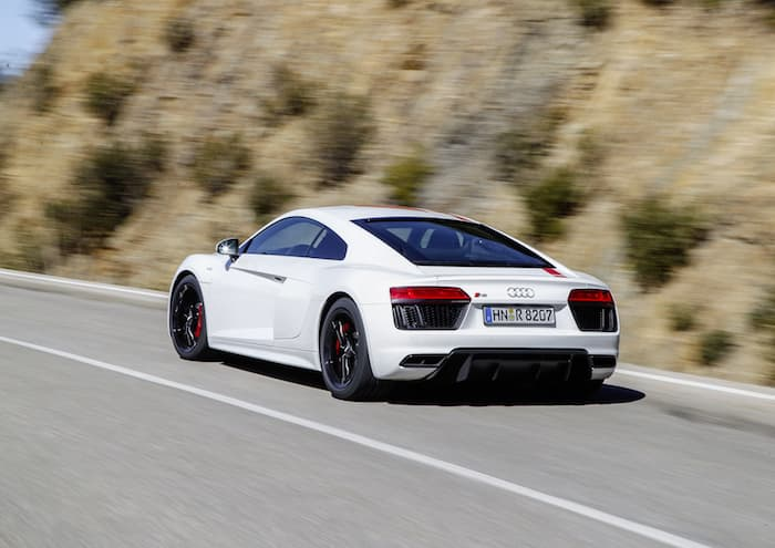 The Coupe Will Come With Atop Speed Of 198.8 Miles Per Hour And The Sypder  A Top Speed Of 197.6 Miles Per Hour. Audi Have Not Revealed Any Details On  ...