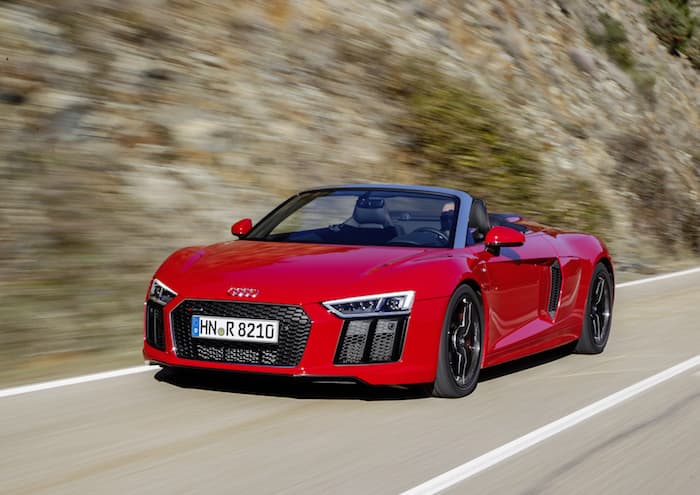 limited edition audi r8 v10 rws announced geeky gadgets. Black Bedroom Furniture Sets. Home Design Ideas