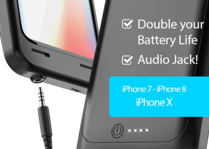 AudioMod iPhone Battery Case With 3.5mm Audio Jack