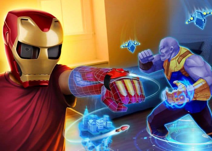 Augmented Reality Iron Man Mask