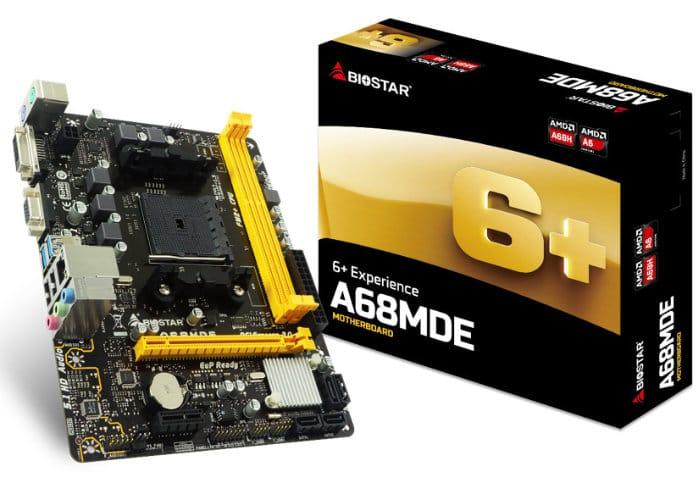 BIOSTAR A68MDE Micro-ATX FM2+ Motherboard