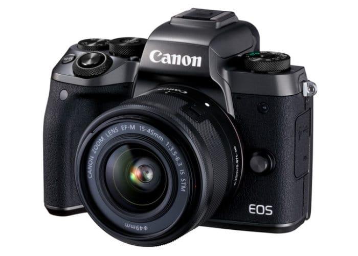 Canon M50 Mirrorless Camera Captures 4K Video