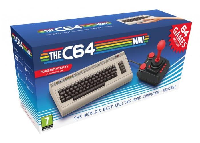 Commodore C64 Mini Games Console