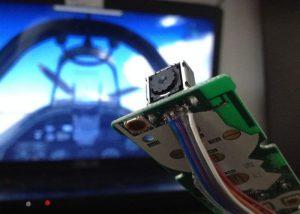 DIY Game Head Tracker Created Using Wii Remote Camera