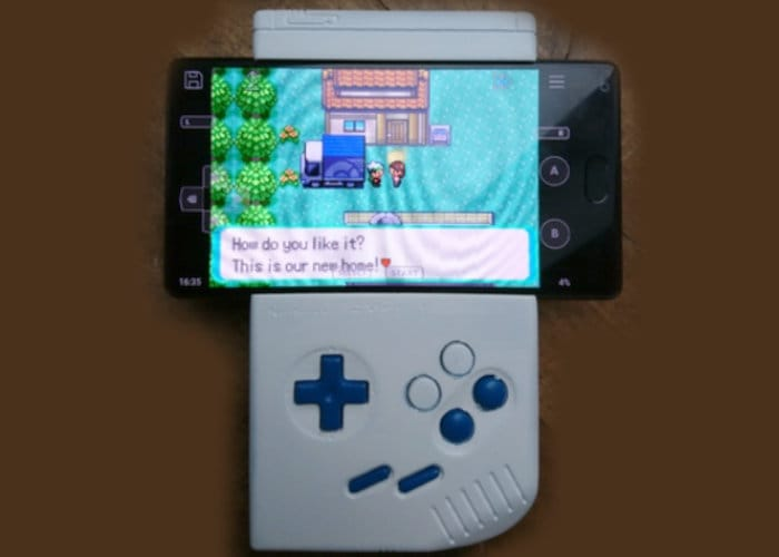 DIY GameBoy Classic Smartphone Gamepad