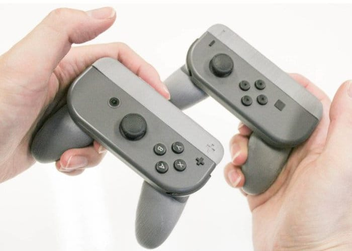 DIY Nintendo Switch Single Joy-Con Grip 3D Printed