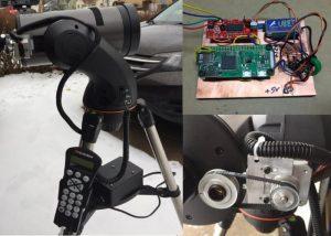 DIY Raspberry Pi Zero Hands-Free Telescope Focus System