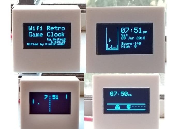 DIY Wireless Retro Gaming Clock