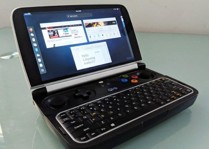 GPD Win 2 Handheld Games PC Running Linux