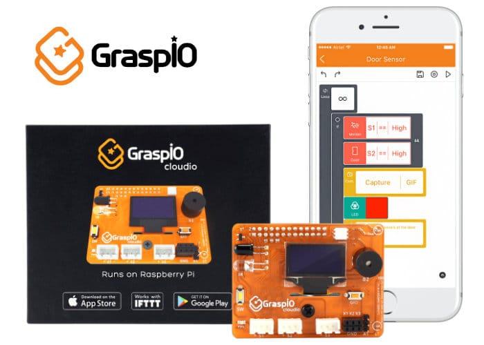 GraspIO Cloudio Raspberry Pi