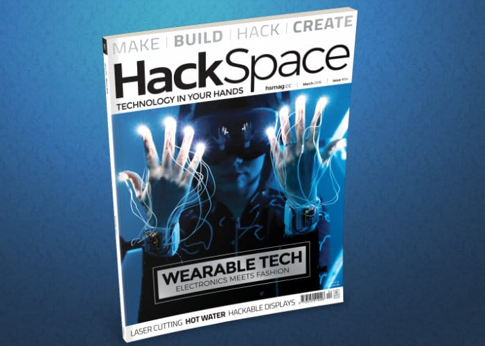 HackSpace Wearable Edition Magazine