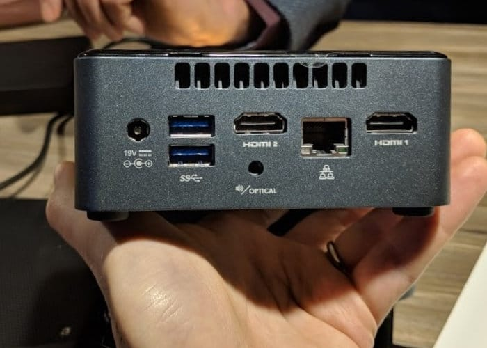 Intel June Canyon NUC Specifications Announced