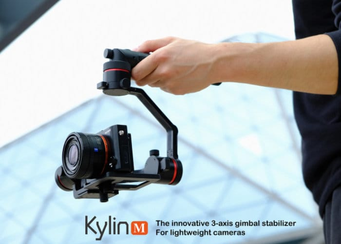 Kylin M 3-Axis Lightweight Camera Stabiliser