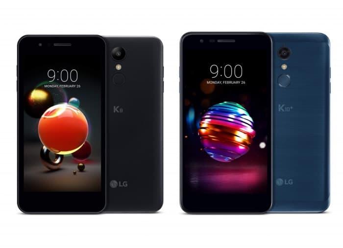 LG K8 And LG K10