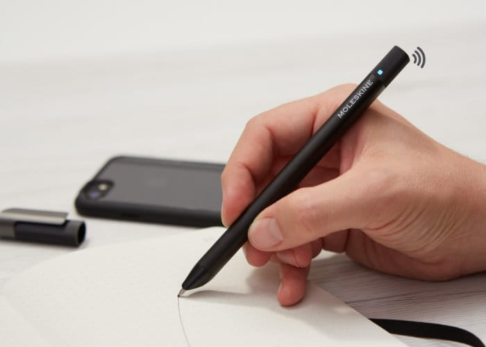Moleskine Pen+ Ellipse Smartphone Connected Pen