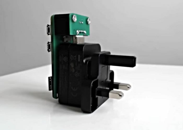 N-O-D-E Always On Networked Raspberry Pi Plug Mini Server