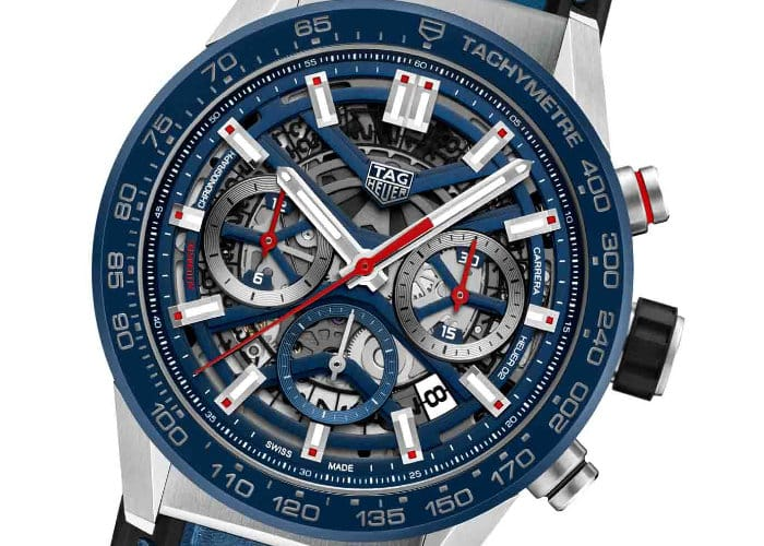 New TAG Heuer Carrera Heuer 02 Watch Features New Movement