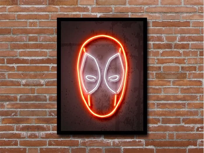 Octavian Mielu Neon Illusion Wall Art
