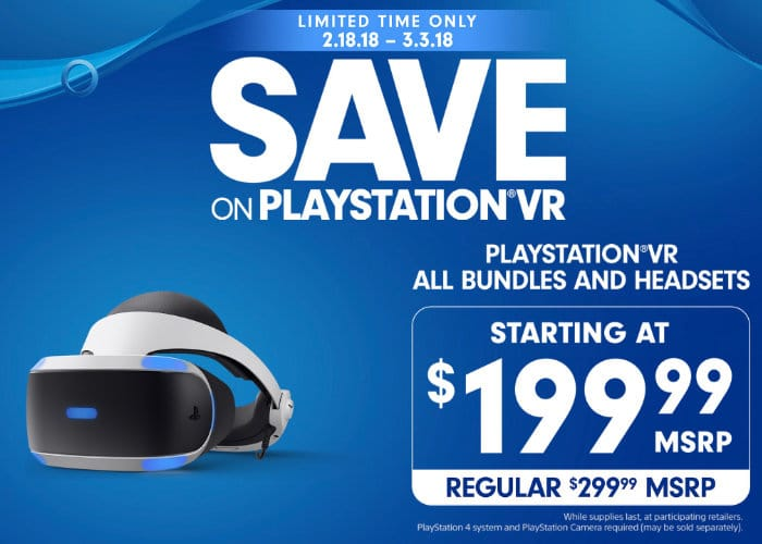 PlayStation VR Bundles