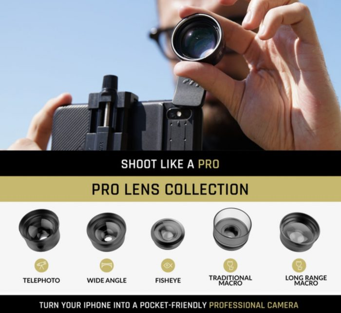 ShiftCam 2.0 Offers 12 Smartphone Lenses In One