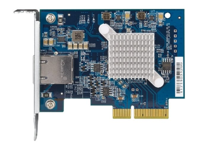 QNAP QXG-10G1T 5-Speed 10GBASE-T NIC For NAS Or PC