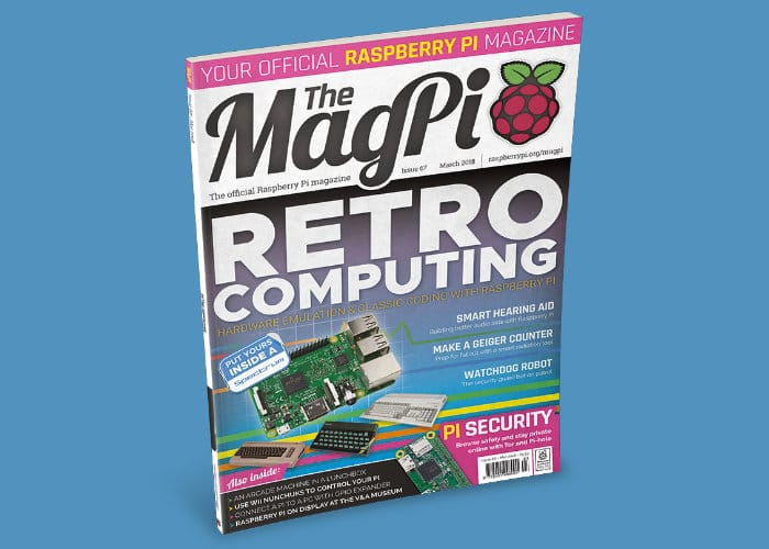 Raspberry Pi MagPi Magazine issue 67