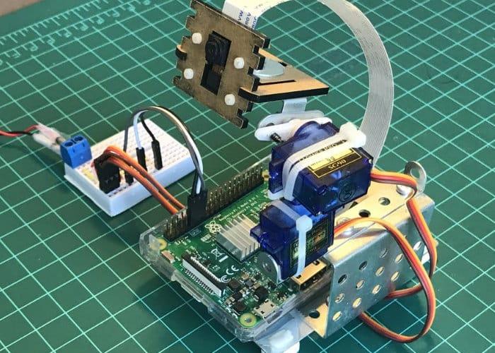 Raspberry Pi Pan-Tilt Multi Servo Control