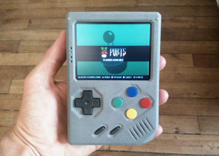 Retrostone handheld retro gaming console geeky gadgets - Retro game emulator console ...