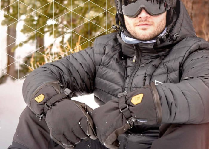 Raven Heated Ski Gloves