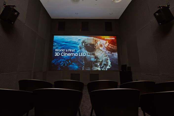 Samsung 3D Cinema LED Display