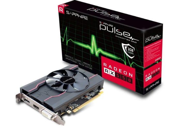 Sapphire Radeon RX 550 Graphics Card