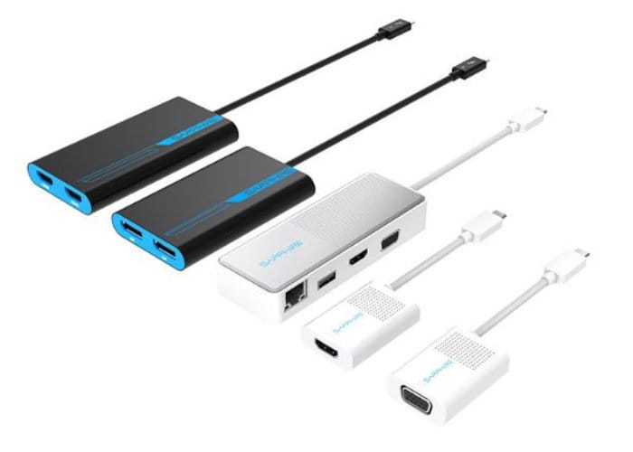 Sapphire Thunderbolt 3 And USB-C Adapters