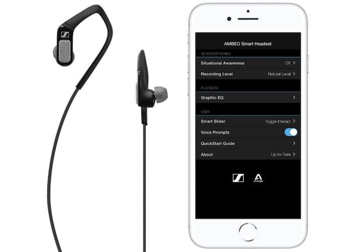 Sennheiser Black Apogee Sennheiser AMBEO Smart Headset