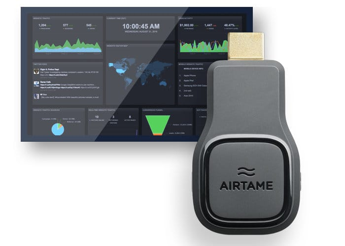 Wirelessly Stream Content To Your Large Screen TV Using Airtame