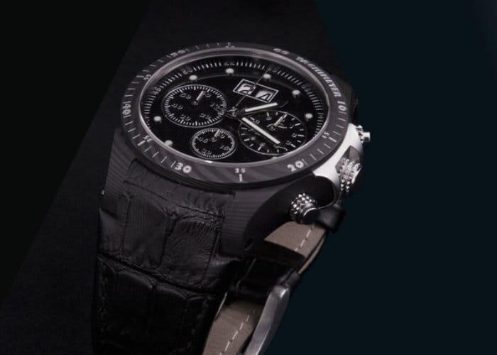 The Ledgend Italian Carbon Fibre Watch