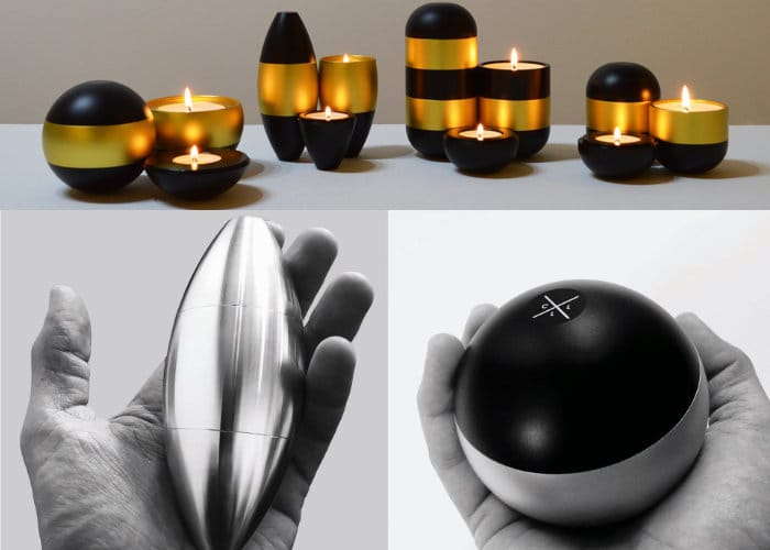 Unique Solid Aluminium Candle Light Range