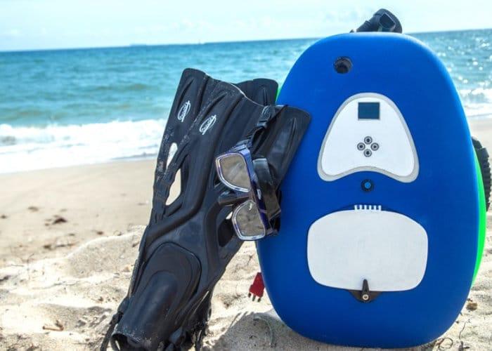 bLU3 Nomad Tankless Dive System