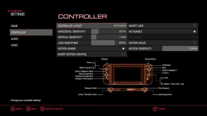 motion controls