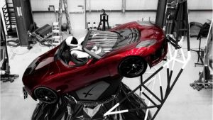 Tesla Roadster Heads to the Heavens Today Atop Falcon Heavy Rocket