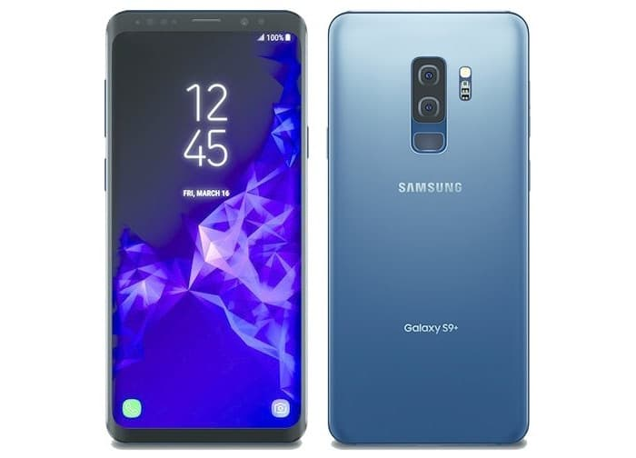 coral blue samsung galaxy s9 plus leaked geeky gadgets. Black Bedroom Furniture Sets. Home Design Ideas